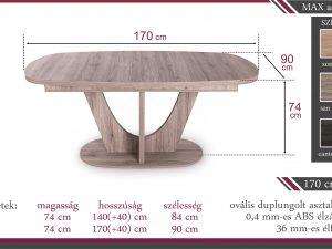 Max asztal
